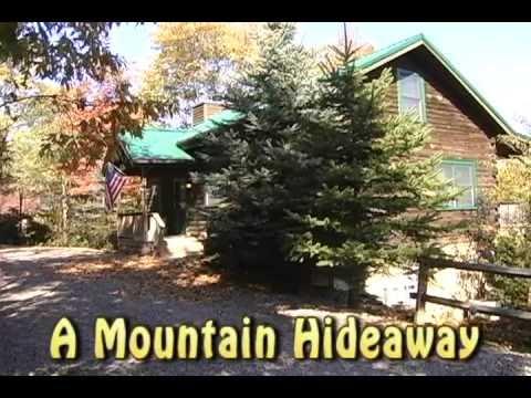 A Mountain Hideaway Blue Ridge Mountain Rentals Youtube
