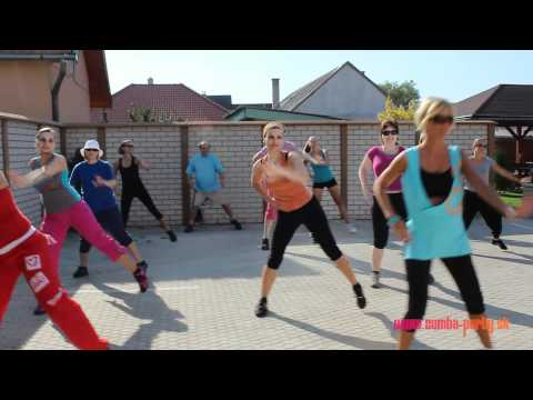 Zumba wellness weekend in Velky Meder, Slovakia, video repor