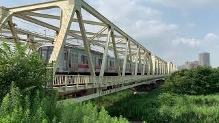 東武スカイツリーライン荒川橋梁 #軽快なジョイント音
