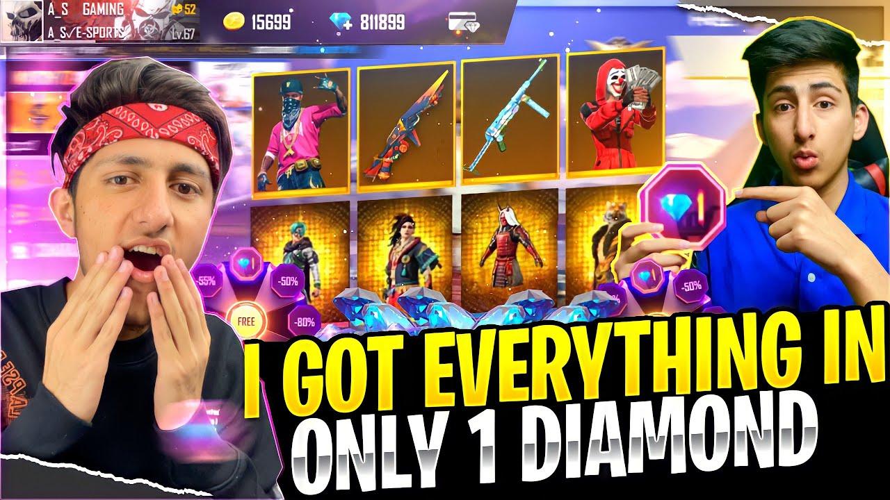 Got Everything In 1 Diamond In Subscriber Account heart eyes Buying 12,000 Diamonds Garena Free