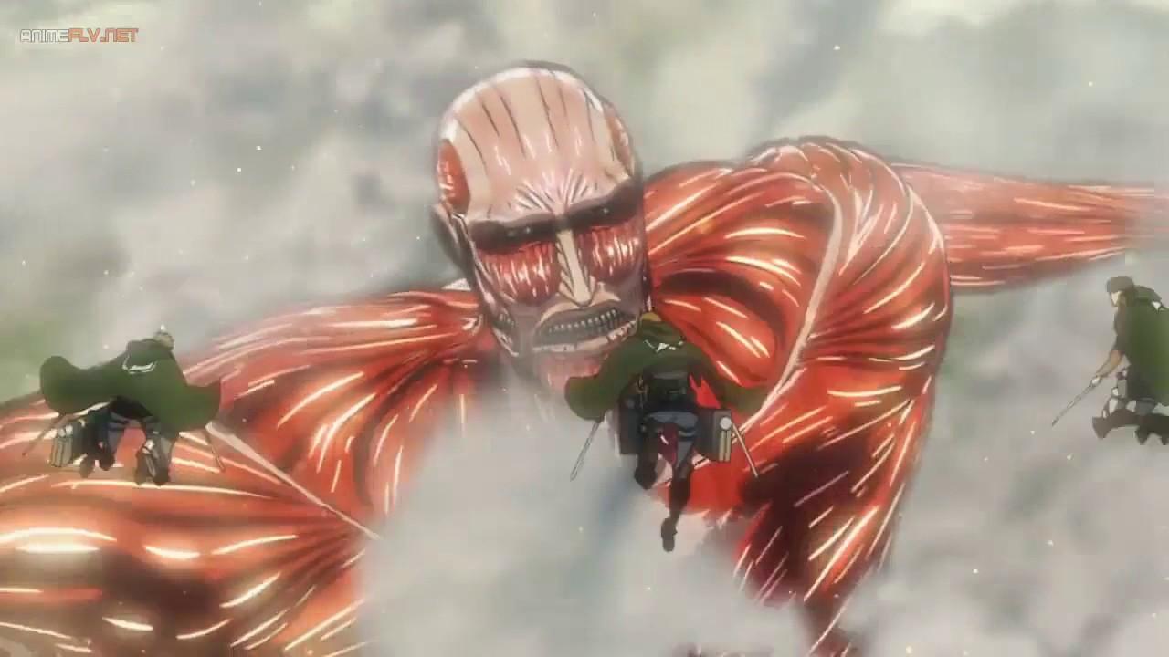 La diferencia entre el Titán colosal y los titanes de pared Shingeki no kyojin