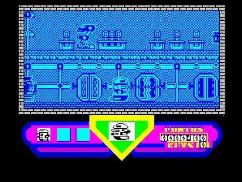 Robot Scape / ROBOT-ESCAPE (ZX Spectrum)