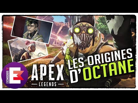OCTANE INTIMEMENT LIÉ À LIFELINE ? LES ORIGINES D'OCTANE | Apex Legends
