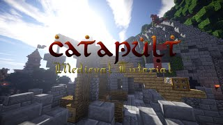 How To Build A Medieval Catapult (minecraft Tutorial)