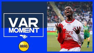 VAR | Doelpunt FC Utrecht afgekeurd