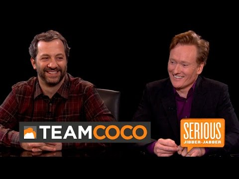 Judd Apatow  Serious JibberJabber with Conan O'Brien  CONAN on TBS