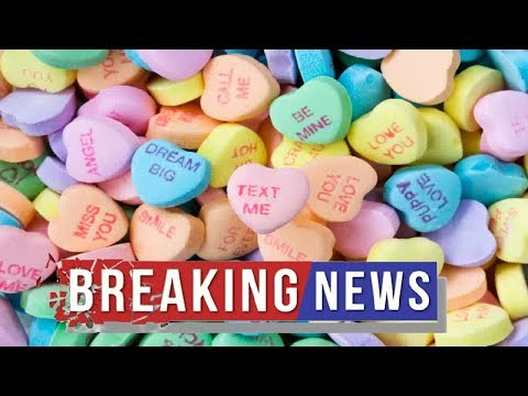 A.J. - No Sweethearts Candy This Valentines's Day? Say It Isn't So!