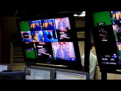 EXCLUSIVE GEO TV MASTER CONTROL ROOM