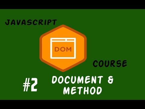#2 شرح ال JavaScript Dom Document