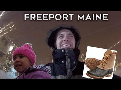 Freeport Maine Snow Storm!