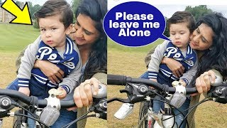 Kareena's Son Taimur Ali Khan is Sad , Scared and Irritated from Media and Fans ..?