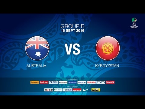 #AFCU16 M03 Australia VS Kyrgyzstan (Group B) - News Report