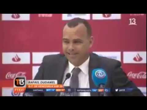 Así respondió Rafael Dudamel cuando le preguntaron si apoyaba a Juan Guaidó