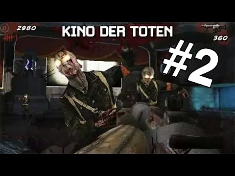 """COD:BLACK OPS ZOMBIE """"Kino Der Toten"""" ANDROID #2"""