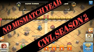 #coc,#clash of clans india,#cwl HOW TO START CWL 2 WITHOUT MISMATCHING//CLASH OF CLANS....