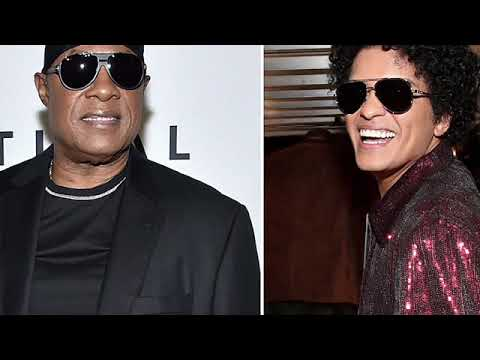 Stevie Wonder Defends Bruno Mars
