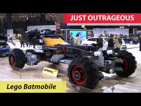 5 outrageous finds at the Cleveland Auto Show (video)