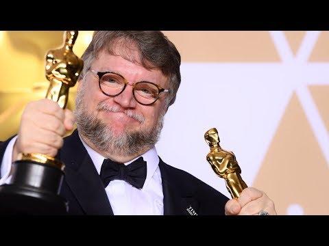 Guillermo Del Toro  Full Backstage Oscars Speech  Best Director  Best Picture