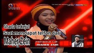 """Top VIRAL..!!!!!  SHARLA DI TELPON MAHER ZAIN nyanyi lagu """"ASSALAMUALAIKA"""""""