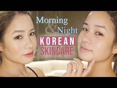 Morning & Night KOREAN 10 STEP Skincare Routine | Glass Skin