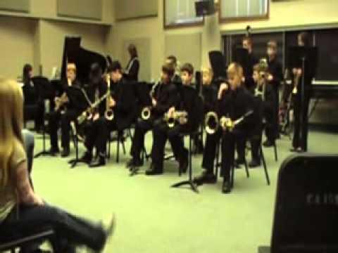 ISU Jazz Festival-2011-West Vigo Middle School Jazz Band