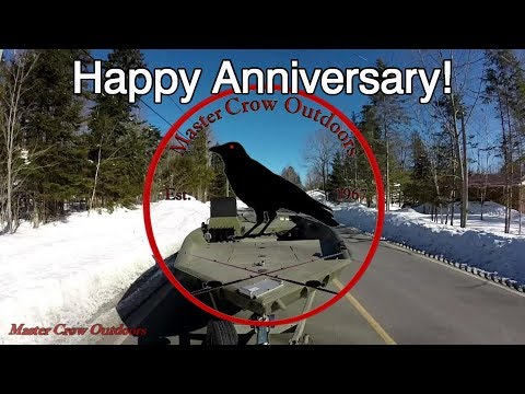 Happy Anniversary From Master Crow Outdoors-2018