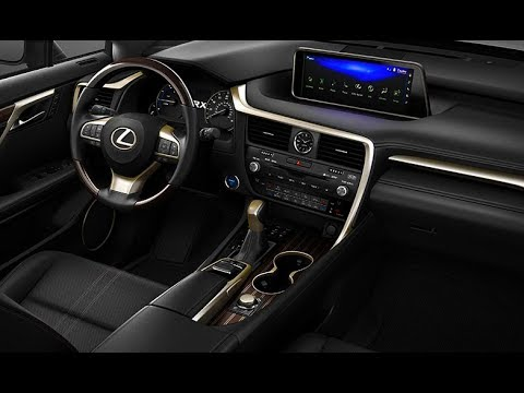 2018 Lexus Rx L Interior The New 7