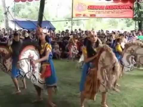 Traditional arts java-New SEKAR KENCONO UNITED,,,, 2014 (PUTRI)