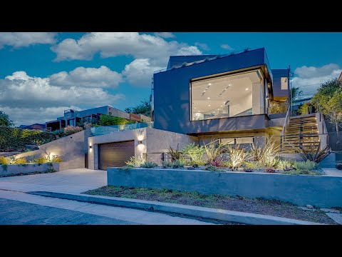 Brand new modern architectural smart home with views of Santa Monica