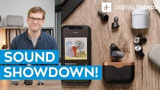 New Sony WF-1000XM3 vs. Klipsch T5 vs. Sennheiser Momentum | Wireless sound showdown