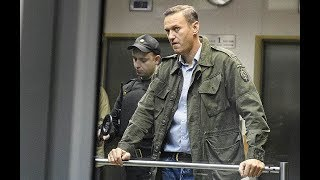 Навальный задержан в Москве