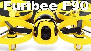✔ FuriBee F90 - FPV Микроквадрокоптер с Уникальным Дизайном! Gearbest 78.86$!