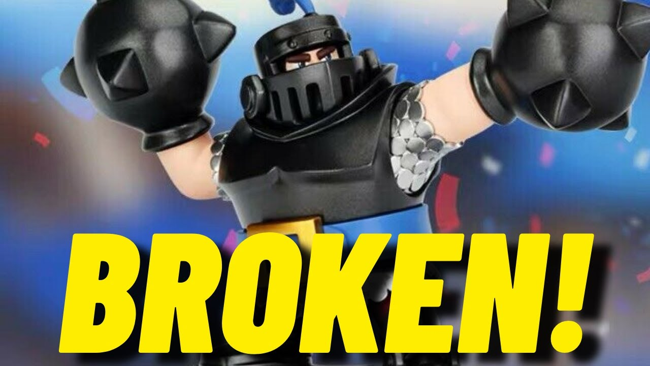 THIS NEW MEGA KNIGHT DECK IS SO BROKEN! (I swear it has nothing to do with the goblin drill)🌚