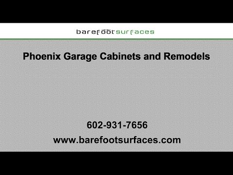 Phoenix Garage Cabinets and Remodels | Barefoot Surfaces