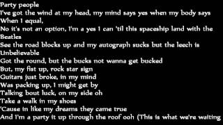 "In My Mind, Pt 2 (feat Georgi K) ""Flo Rida"" Lyrics"