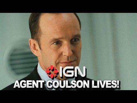 S.H.I.E.L.D.: Agent Coulson Lives!  NYCC 2012