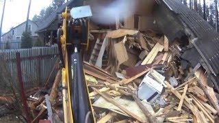 Демонтаж деревянного дома в Новое Токсово с вывозом мусора(, 2016-05-05T08:15:14.000Z)