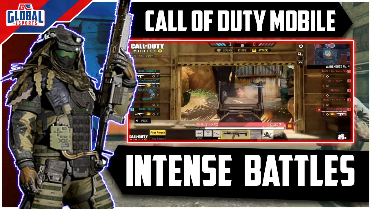 Intense Battles - Top Plays - Call Of Duty Mobile Gameplay