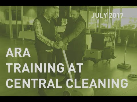 Training at Central Cleaning in July 2017
