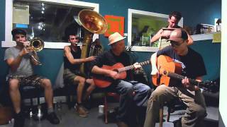 "Tuba Skinny - ""Six Feet Down""  - ""Live at the Hive""  6-24-2011  - MORE at DIGITALALEXA channel"