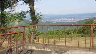 山古志種苧原を萱峠の展望台からの風景!(2013/5)