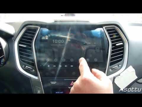 Asottu CIX459060 Hyundai IX45 Santa Fe car dvd installation guide