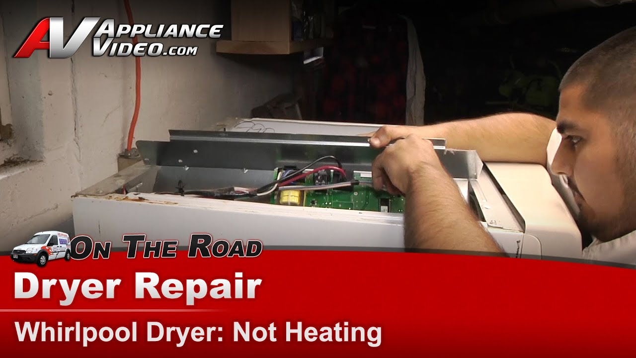 Whirlpool Maytag Dryer Repair Not Heating or drying clothes
