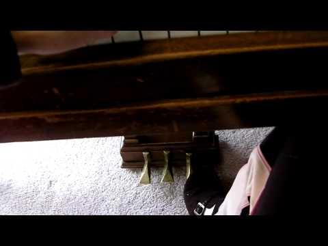 Bush & Gerts baby grand piano