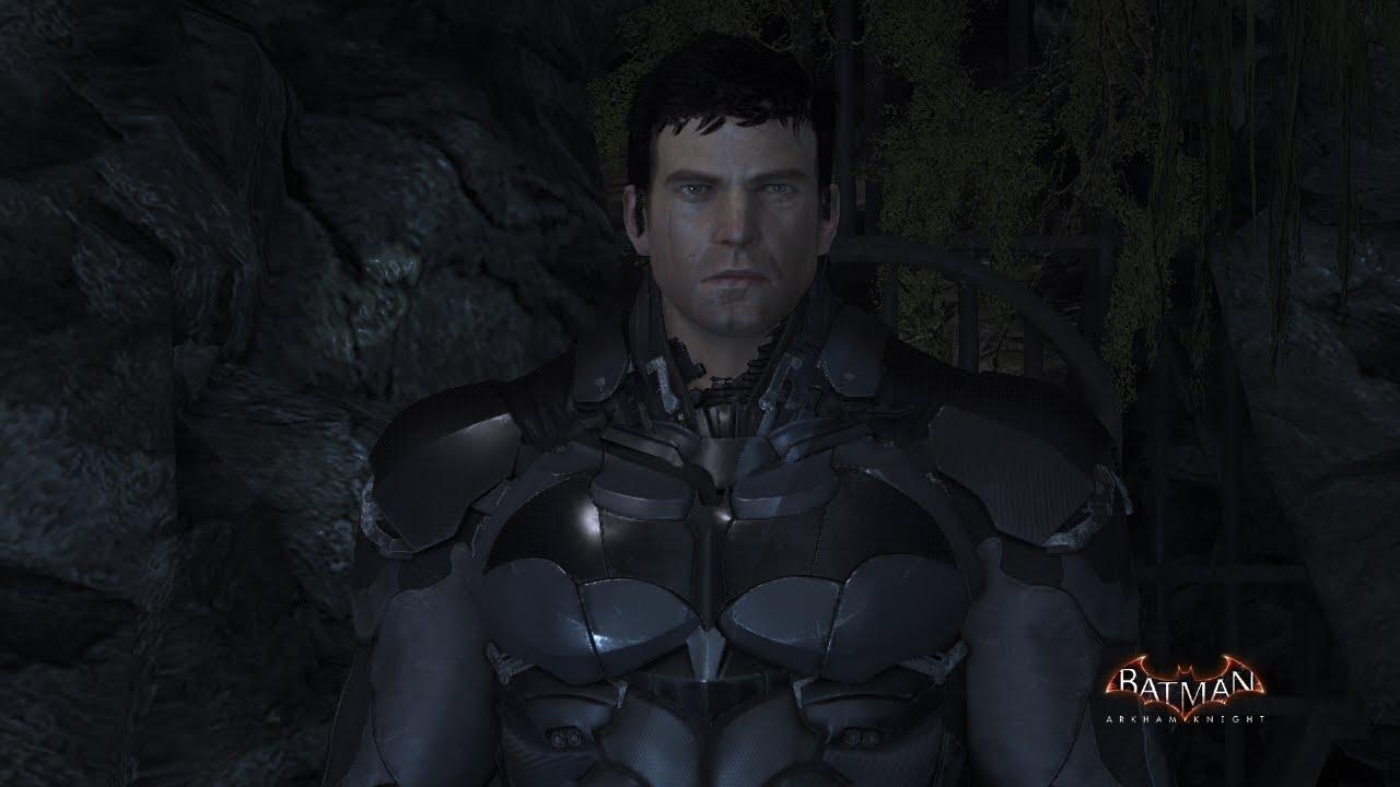 Batman Arkham Knight Playable Unmasked Batman Hush In