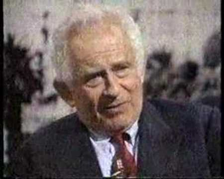 Norman Mailer interviewed by Martin Amis, 1991. (2 of 4)