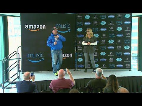 Garth Brooks, Trisha Yearwood speak ahead of Indy concert series.
