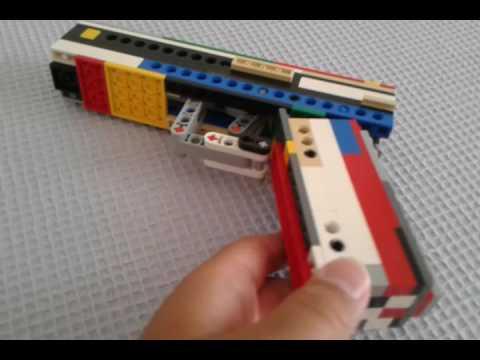 Lego Glock 18 Working Youtube