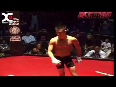 Martin Day Spinning Back Kick KO : MMA Hawaii