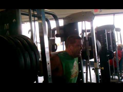 Dave squats 400 lbs